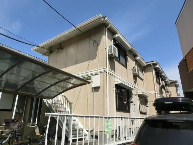 シャロムII 1R/2階の外観 ★閑静な住宅街の中にあります★